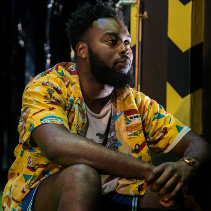 Abraham Popoola stars in Pity at Royal Court Theatre.