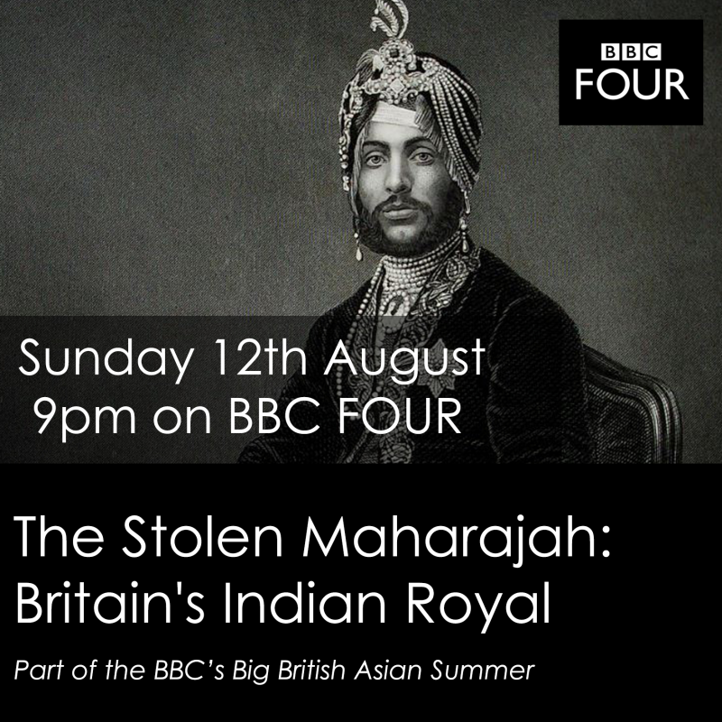 Aaron Neil narrates BBC documentary: The Stolen Maharajah: Britain's Indian Royal