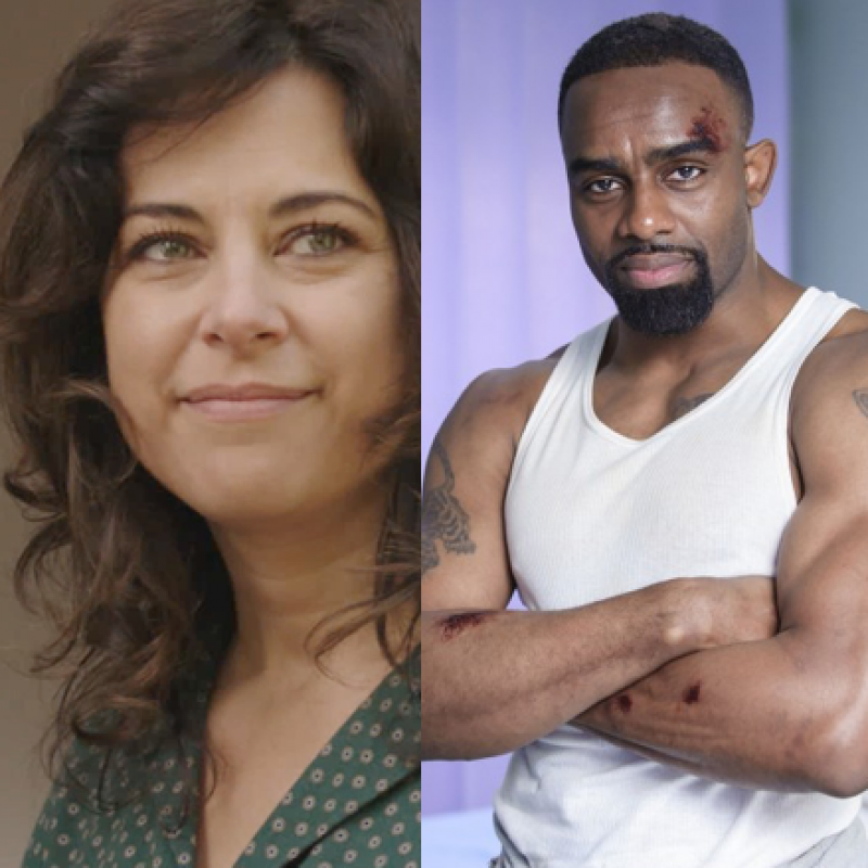 Casualty starring Belinda Stewart Wilson and Charles Venn