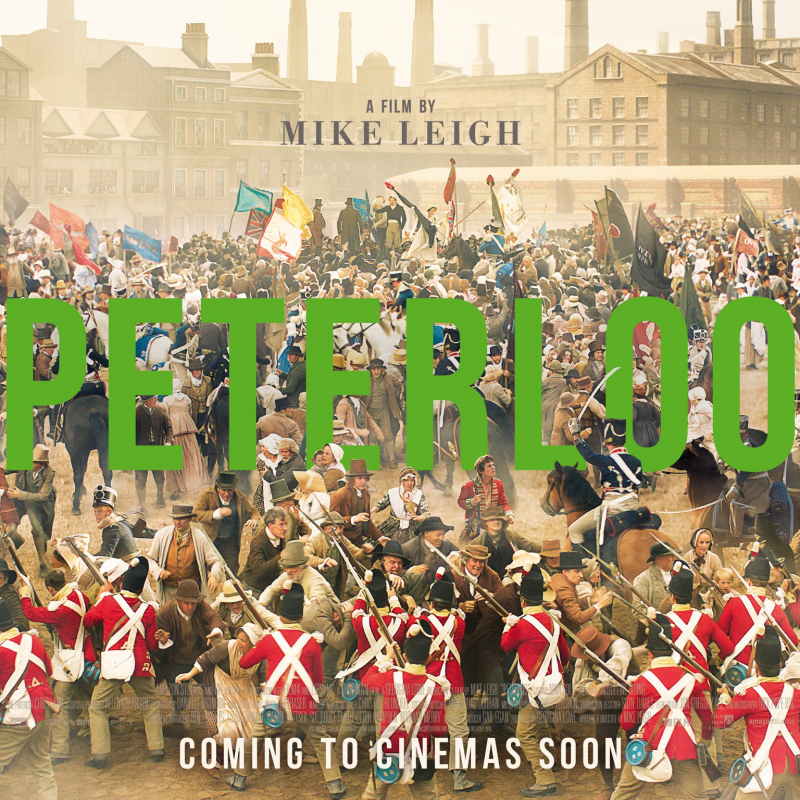 New drama history film Peterloo starring an abundance of Sue Terry Talent!