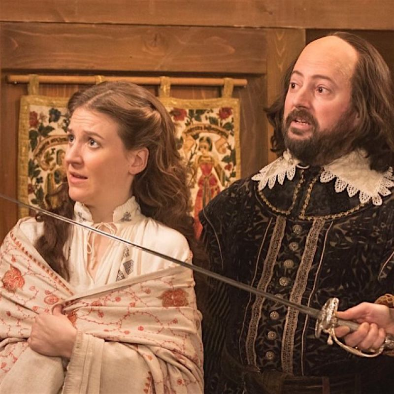 Upstart Crow is back with David Mitchell and Gemma Whelan