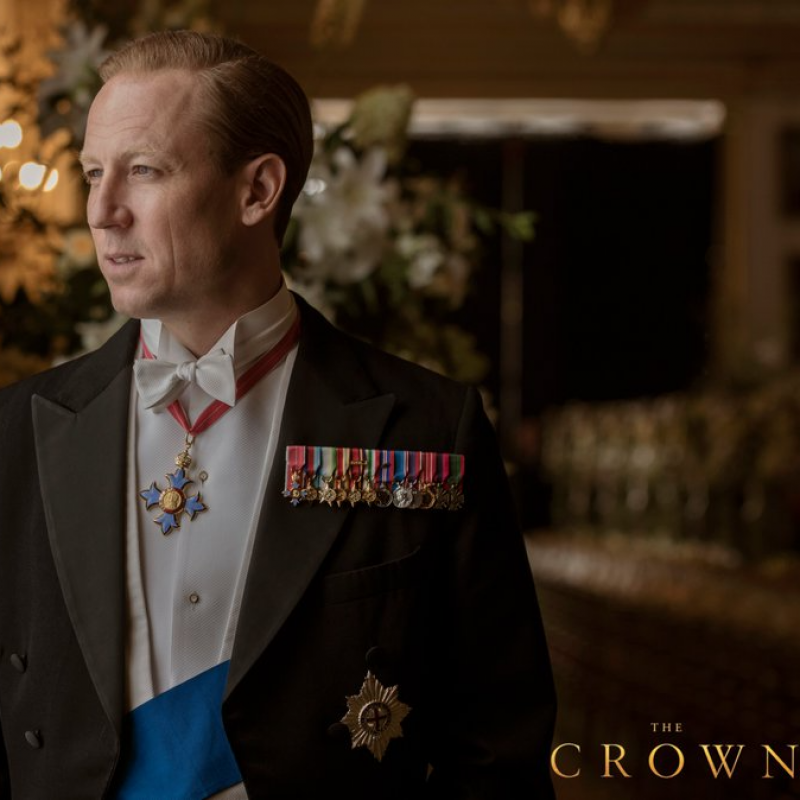 First Look at Tobias Menzies in season 3 of The Crown