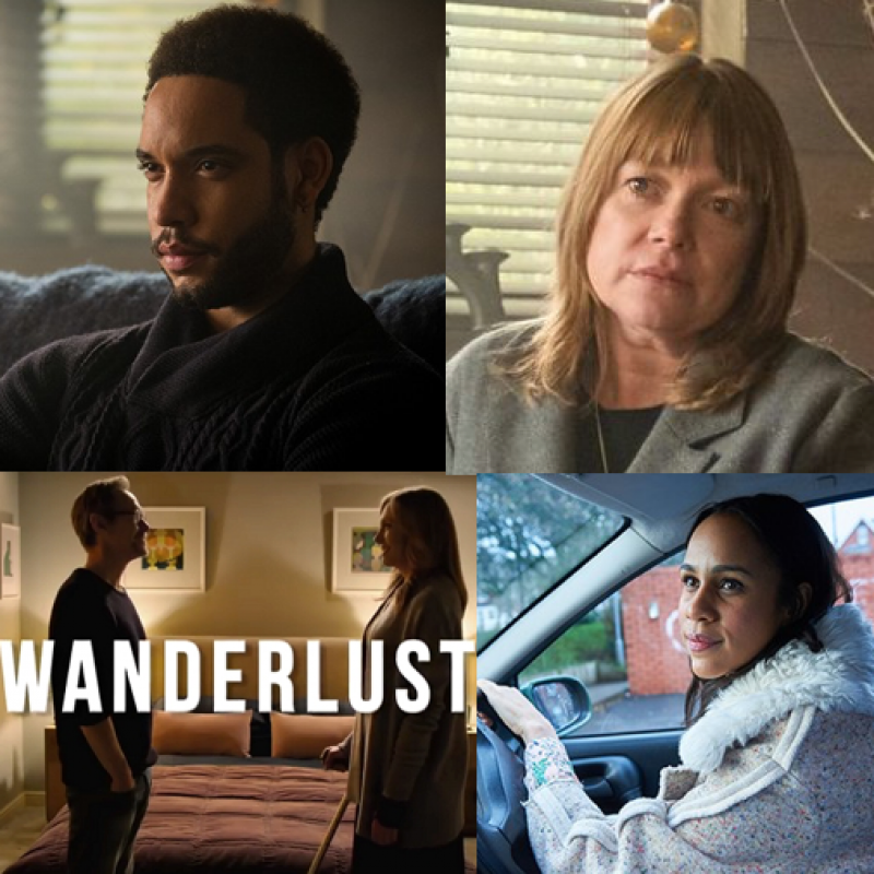 Zawe Ashton, Royce Pierreson and Robin Weaver star in new highly anticipated relationship drama Wanderlust.