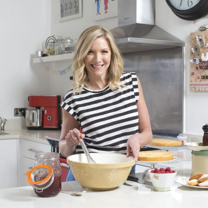 Lisa Faulkner is back in the kitchen on Celebrity MasterChef