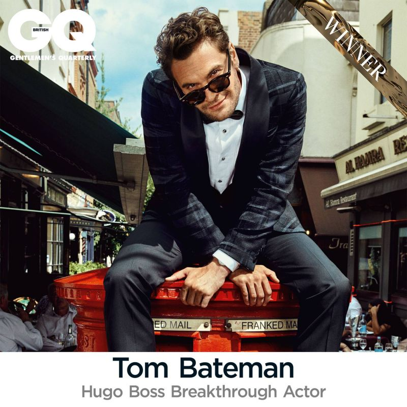 Congratulations to Tom Bateman on his GQ Award