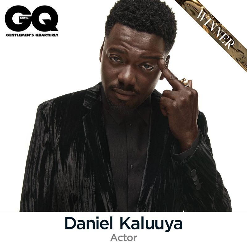 Daniel Kaluuya picks up GQ Best Actor Award