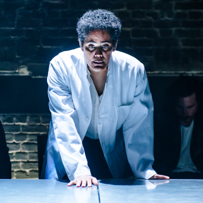 Sara Powell in The Plague at The Arcola Theatre