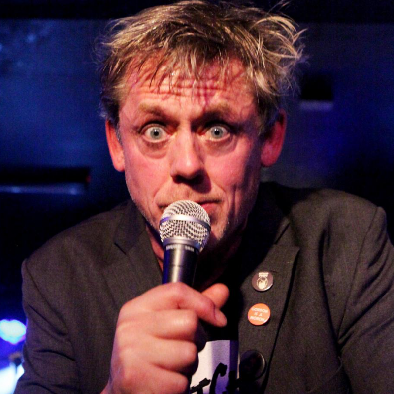 Graham Fellows' tours with Jilted John