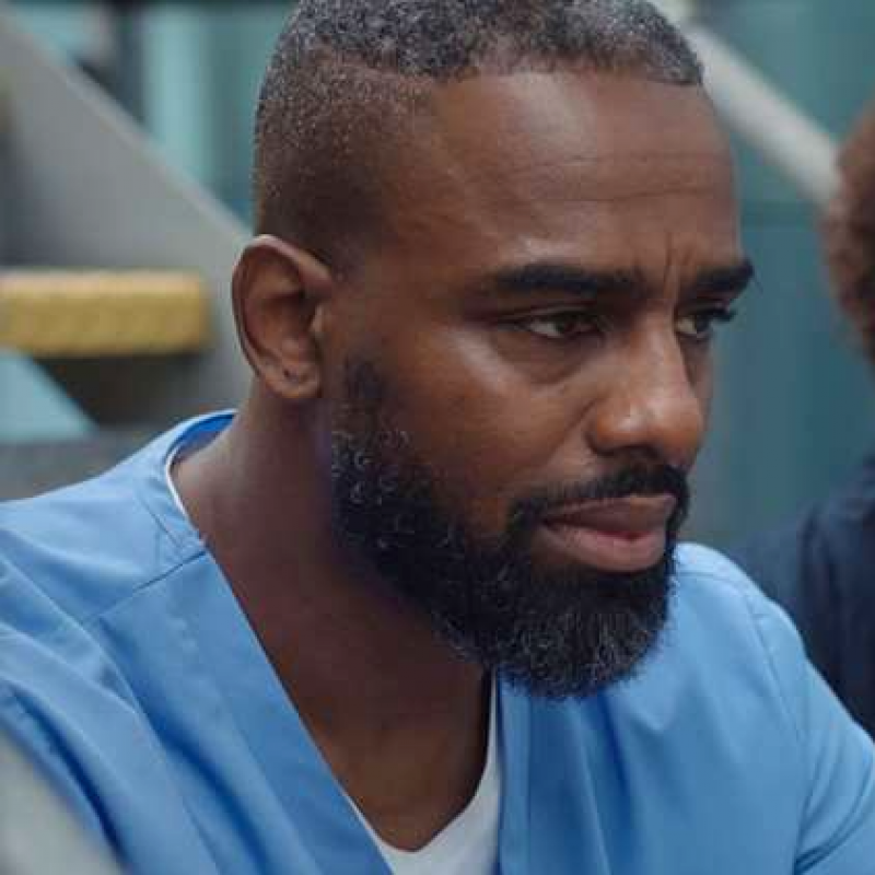Charles Venn's character is in for a shock on Casualty