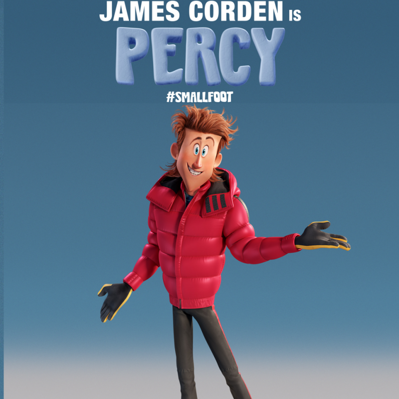James Corden is Percy in new animation SmallFoot