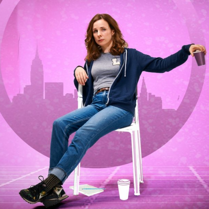 Cariad Lloyd in A Funny Thing Happened On The Way To the Gynecologic Oncology Unit...at Finborough Theatre