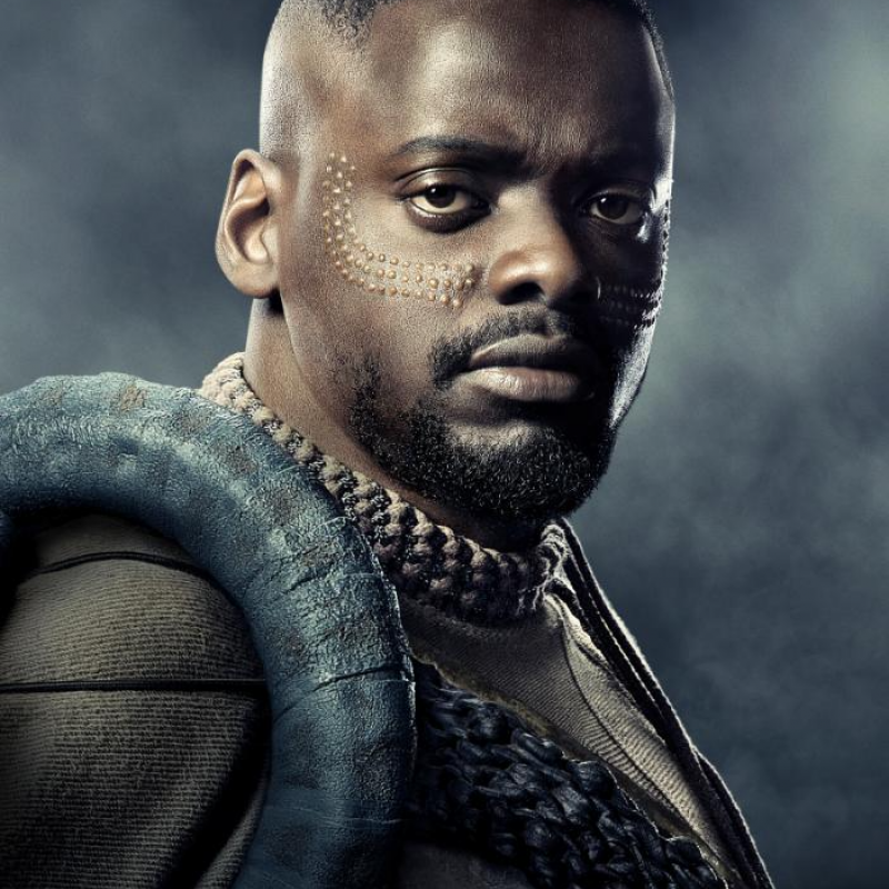 Daniel Kaluuya is W'Kabi in Marvel's Black Panther