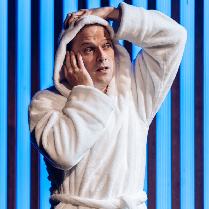 Nicholas Burns is Duke in Measure for Measure at Donmare Warehouse
