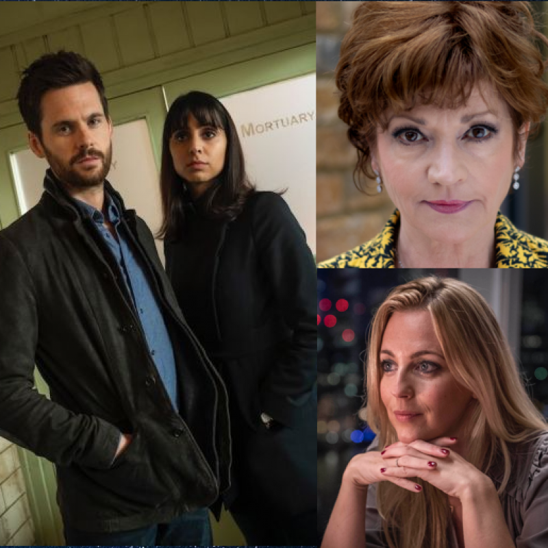 Contemporary crime drama Dark Heart stars Tom Riley, Anjli Mohindra, Miranda Raison & Annie Hulley.