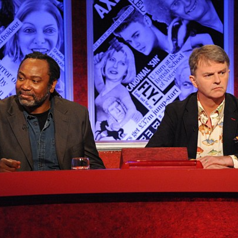 Reginald D Hunter joins the panel of Have I Got News For You With Paul Merton