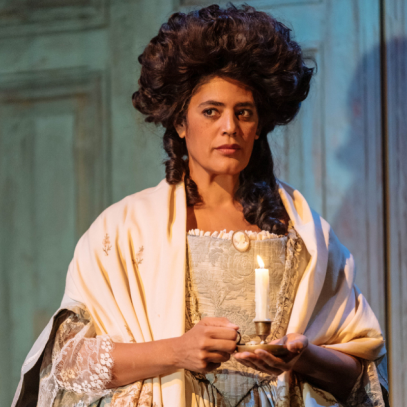 Sara Powell in The Madness of King George III at Nottingham Playhouse