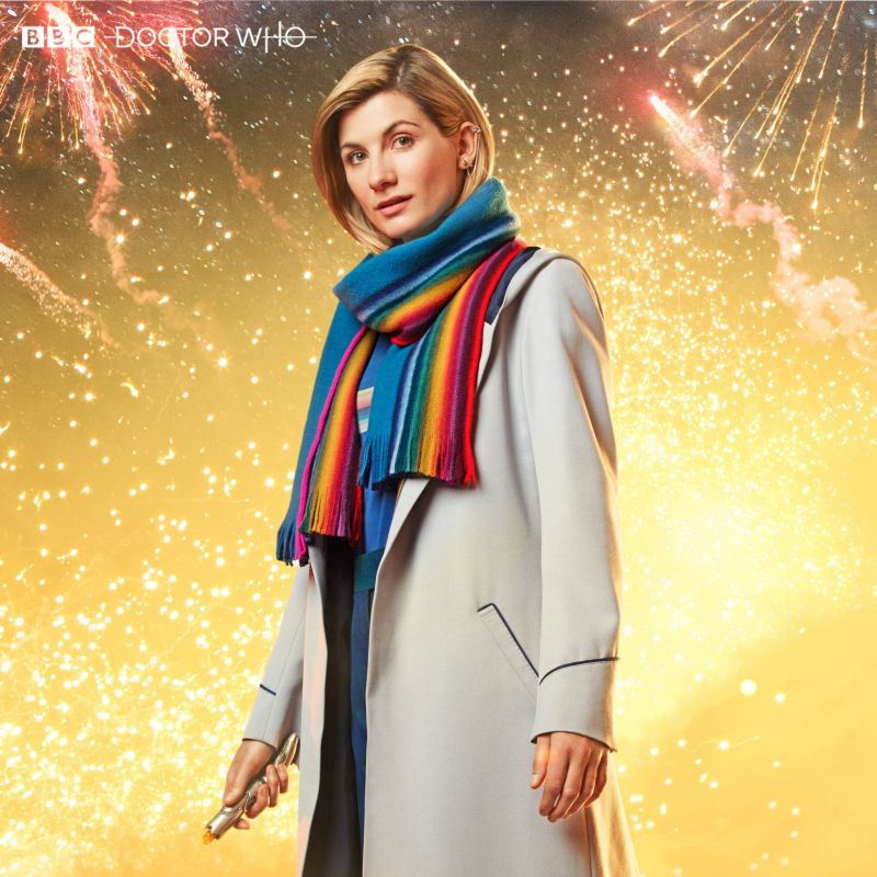 Jodie Whittaker in the Doctor Who New Year's Special