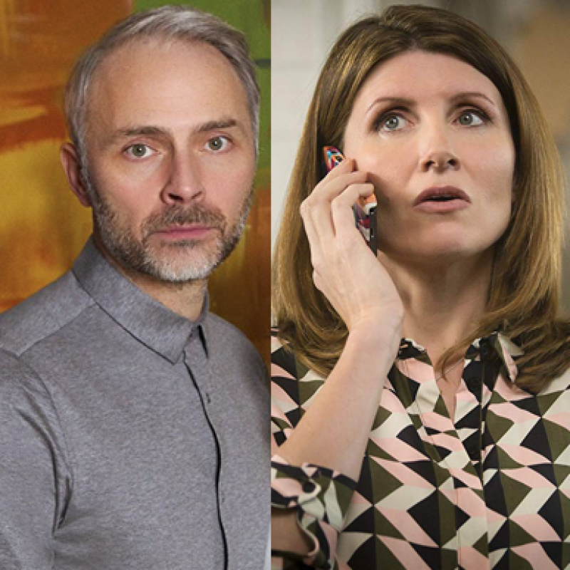 Mark Bonnar & Sharon Horgan return for series 4 of award winning comedy Catastrophe