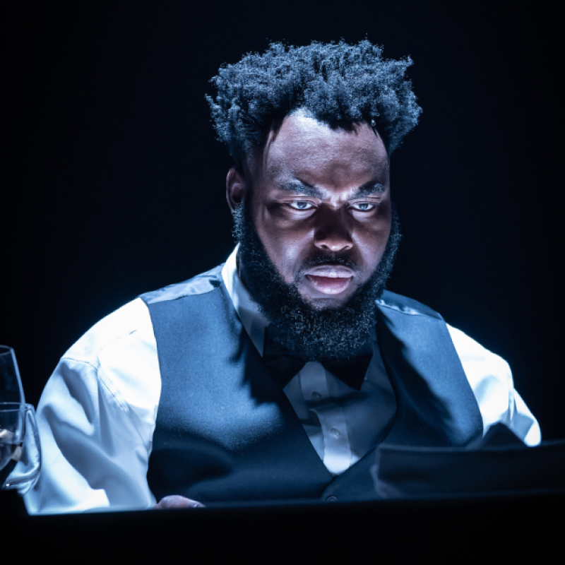 Abraham Popoola stars in Pinter Six - Party Time / Celebration