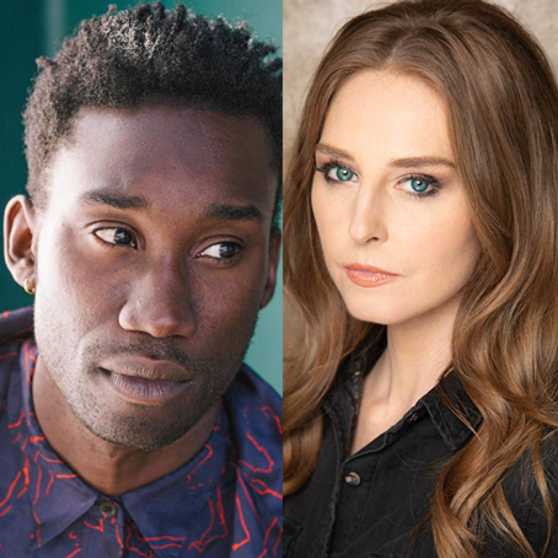 Nathan Stewart-Jarrett and Tonya Cornelisse star in Mope