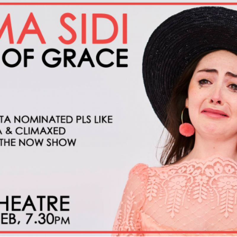 Emma Sidi stars in Faces of Grace