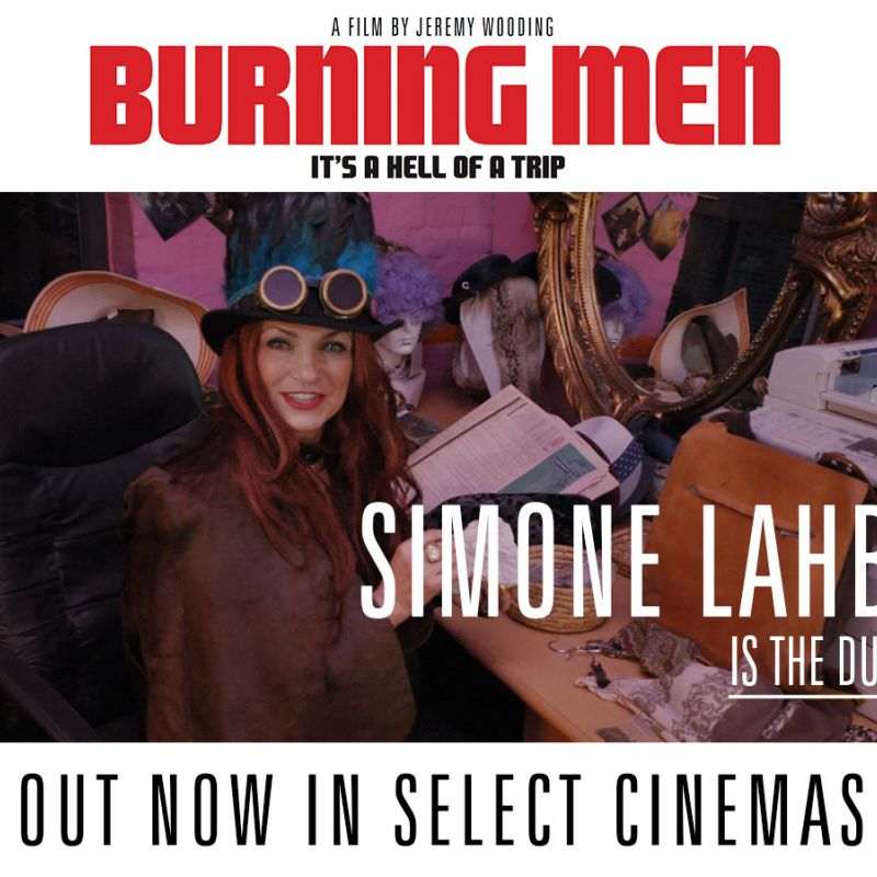 Simone Lahbib stars in the new film Burning Men