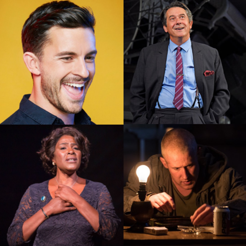 Huge congratulations to our 2019 Olivier Award nominees, Jonathan Bailey, Sharon D Clarke, Adrian Lukis & Adam Gillen