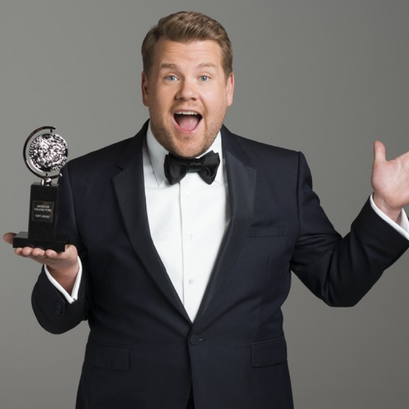 James Corden due to re-host the Tony Awards 2019