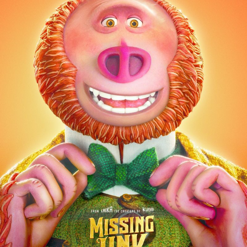 Don't miss Matt Lucas in new feature animation Missing Link