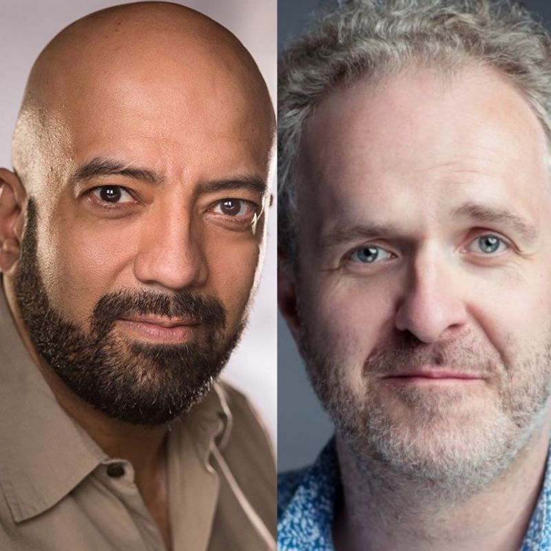 Aaron Neil and Laurence Howarth feature in comedy series 'Home'