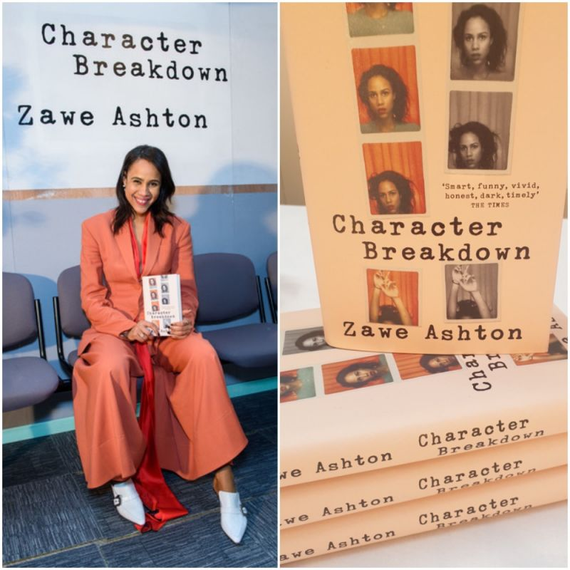 Congratulations to Zawe Ashton on the release of her debut book Character Breakdown