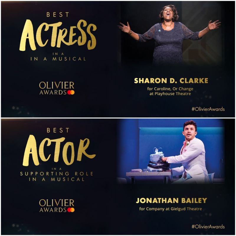 Huge congratulations to our 2019 Olivier award winners!
