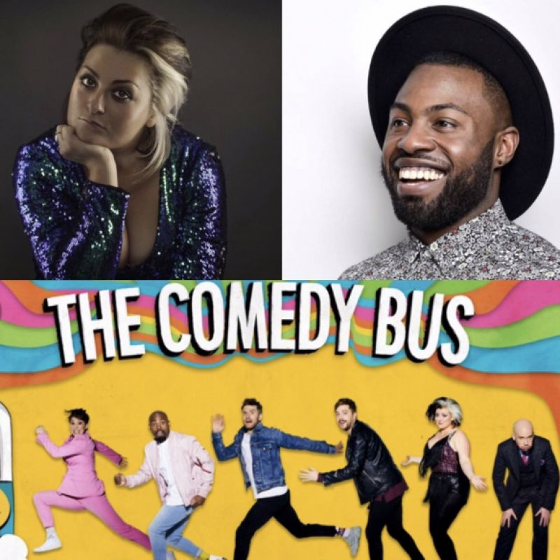 The Comedy Bus tonight on Comedy Central!
