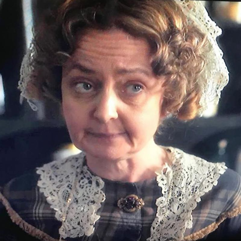 Lucy Briers features in ITV drama Victoria.