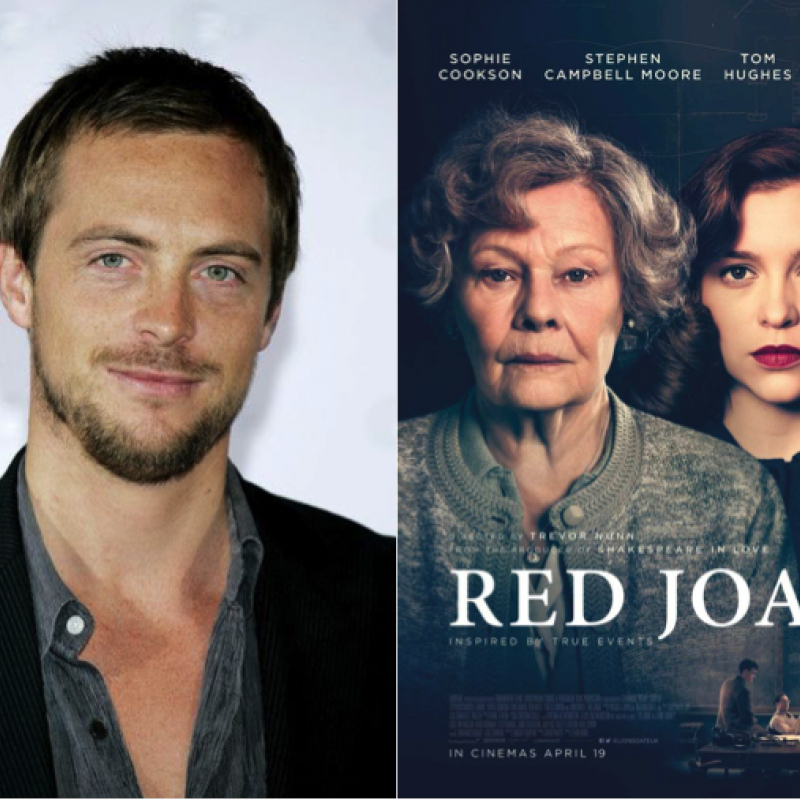 Stephen Campbell Moore as Max in new spy drama film Red Joan.