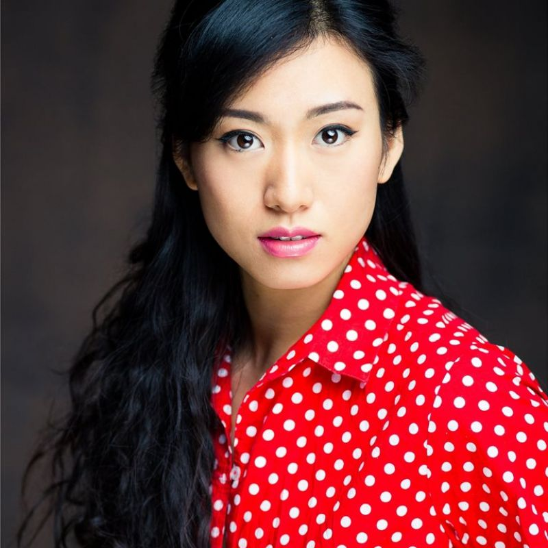 Quanna Luo Masterson as Eileen in drama series Chimerica.