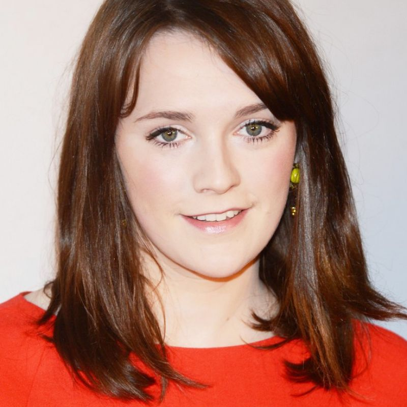 Charlotte Ritchie as a guest on Sunday Brunch.
