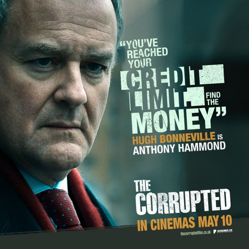 Hugh Bonneville stars in new features film 'The Corrupted'.