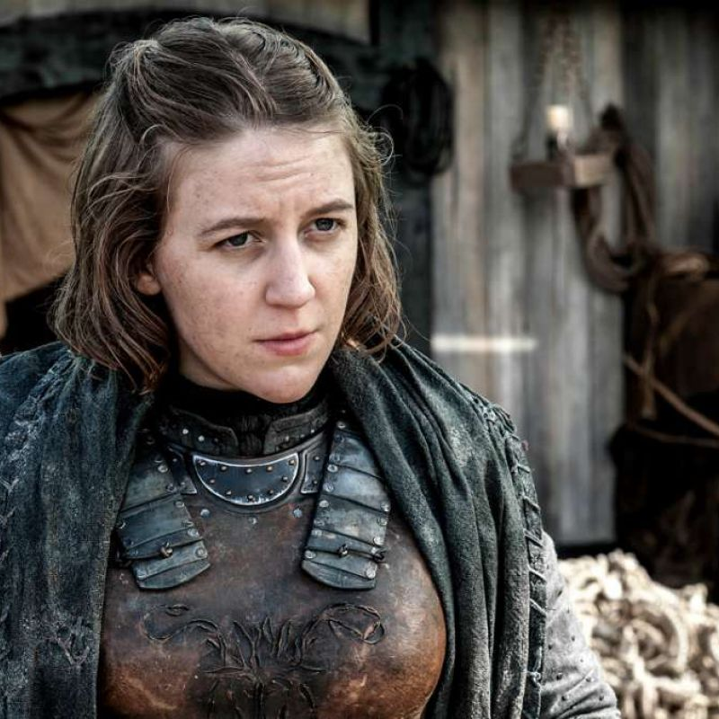 Gemma Whelan features in the final season of Game of Thrones.