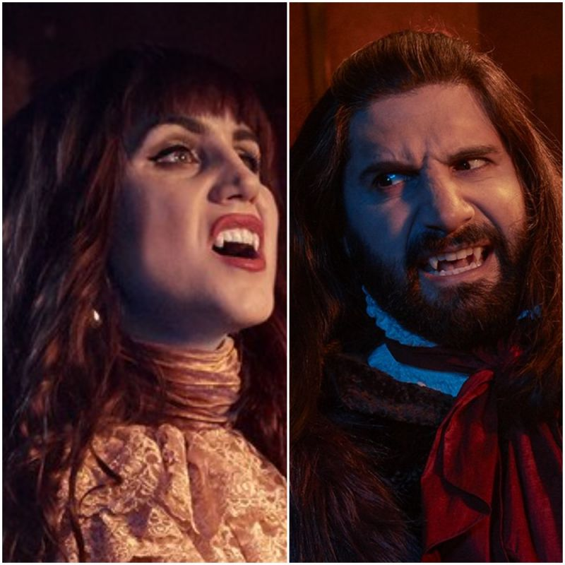 What We Do In The Shadows now available in UK, starring Kayvan Novak and Natasia Demetriou.
