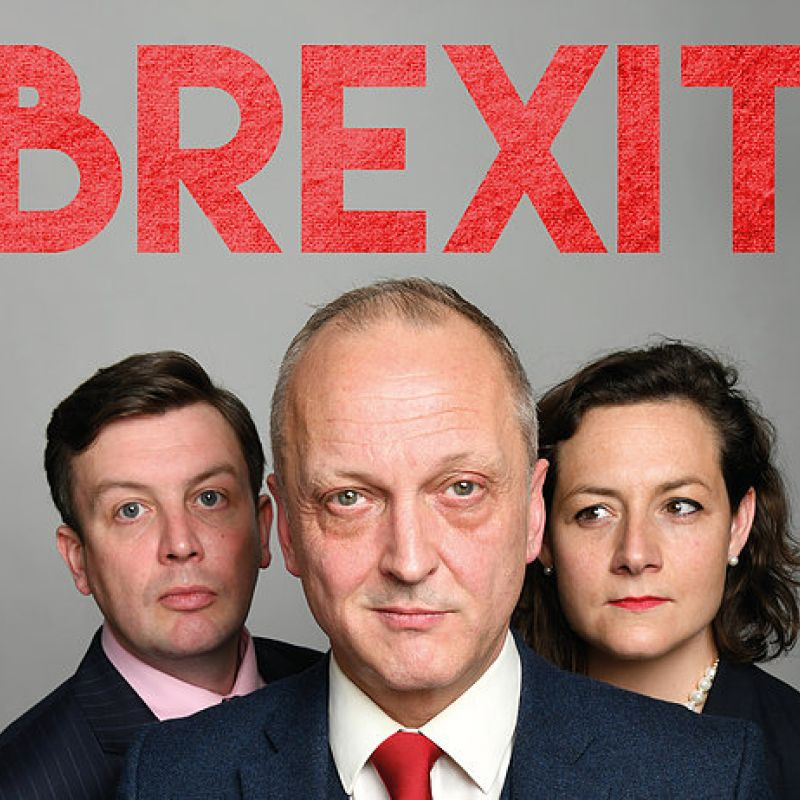 Brexit, the new play returns to the Kings Head Theatre, starring Thom Tuck.
