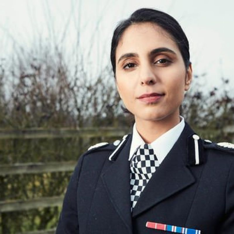 Anjli Mahindra plays ACC Lydia Price in new ITV drama series 'Wild Bill.'