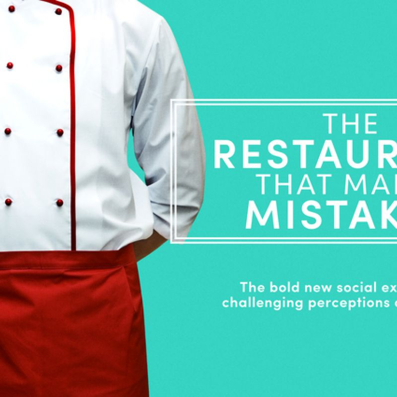 Hugh Bonneville narrates the new Channel 4 Documentary 'The Restaurant That Makes Mistakes'