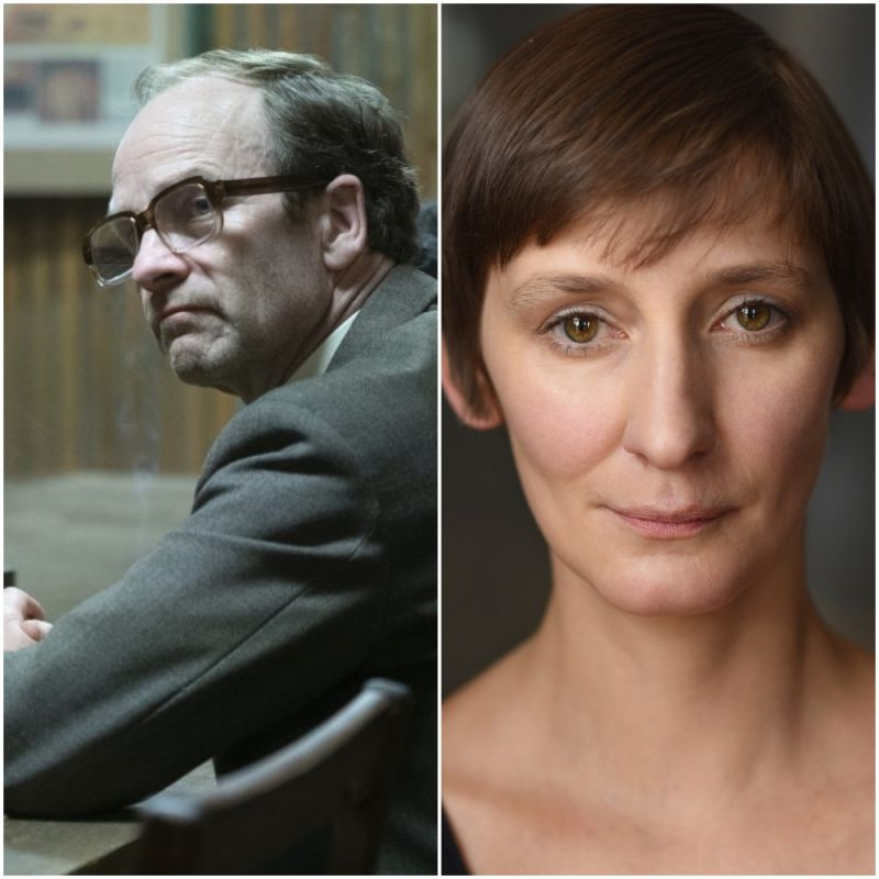 Adrian Rawlins and Laura Elphinstone star in historical drama series, 'Chernobyl'.
