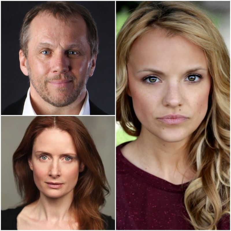 Dean Andrews, Zoe Telford and Laura Aikman star in new police drama 'London Kills', now showing in the UK.