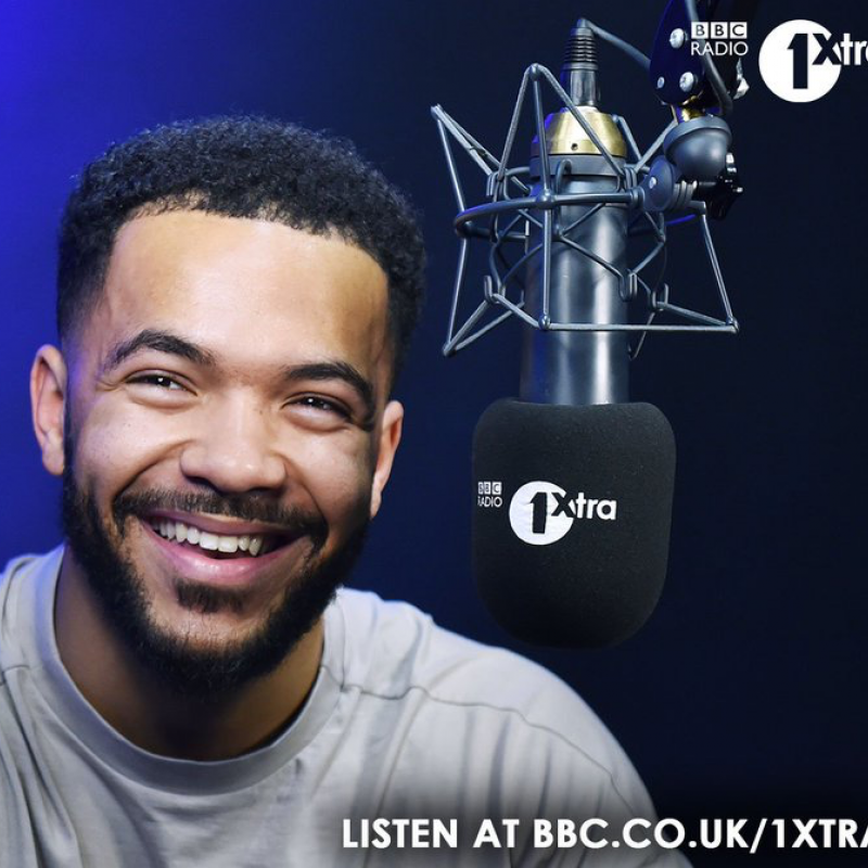 Reece Parkinson on the 1Xtra breakfast show. Monday to Friday 6-10am.