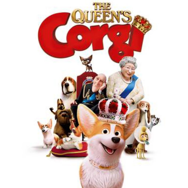 Matt Lucas voices Charlie in new animated feature film 'The Queen's Corgi' .