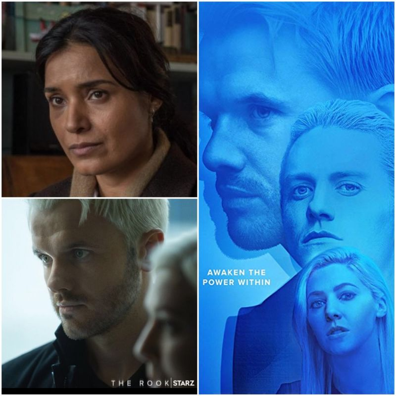 Ronan Raftery and Shelley Conn stars in brand new supernatural thriller series, 'The Rook'