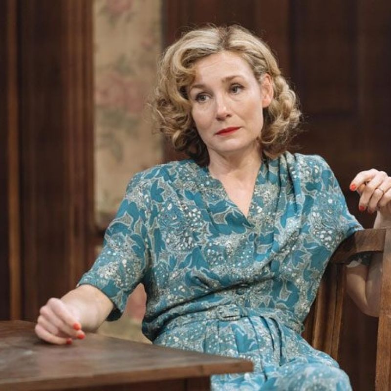 Nancy Carroll stars as Hester Collyer in 'The Deep Blue Sea' at the Chichester Festival Theatre.