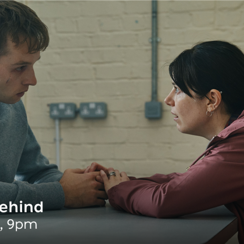 Sion Daniel Young and Aimee-Ffion Edwards star as siblings in new BBC one-off drama, 'The Left Behind'.